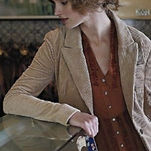 Anthro Daughters Of Liberation Corduroy Blazer 10